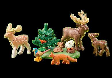 6532 Erdei állatok