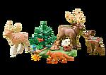 6532 Zwierzęta leśne