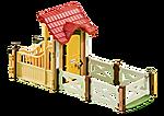 6533 Boxuitbreiding voor de Paardrijclub (art.6926)