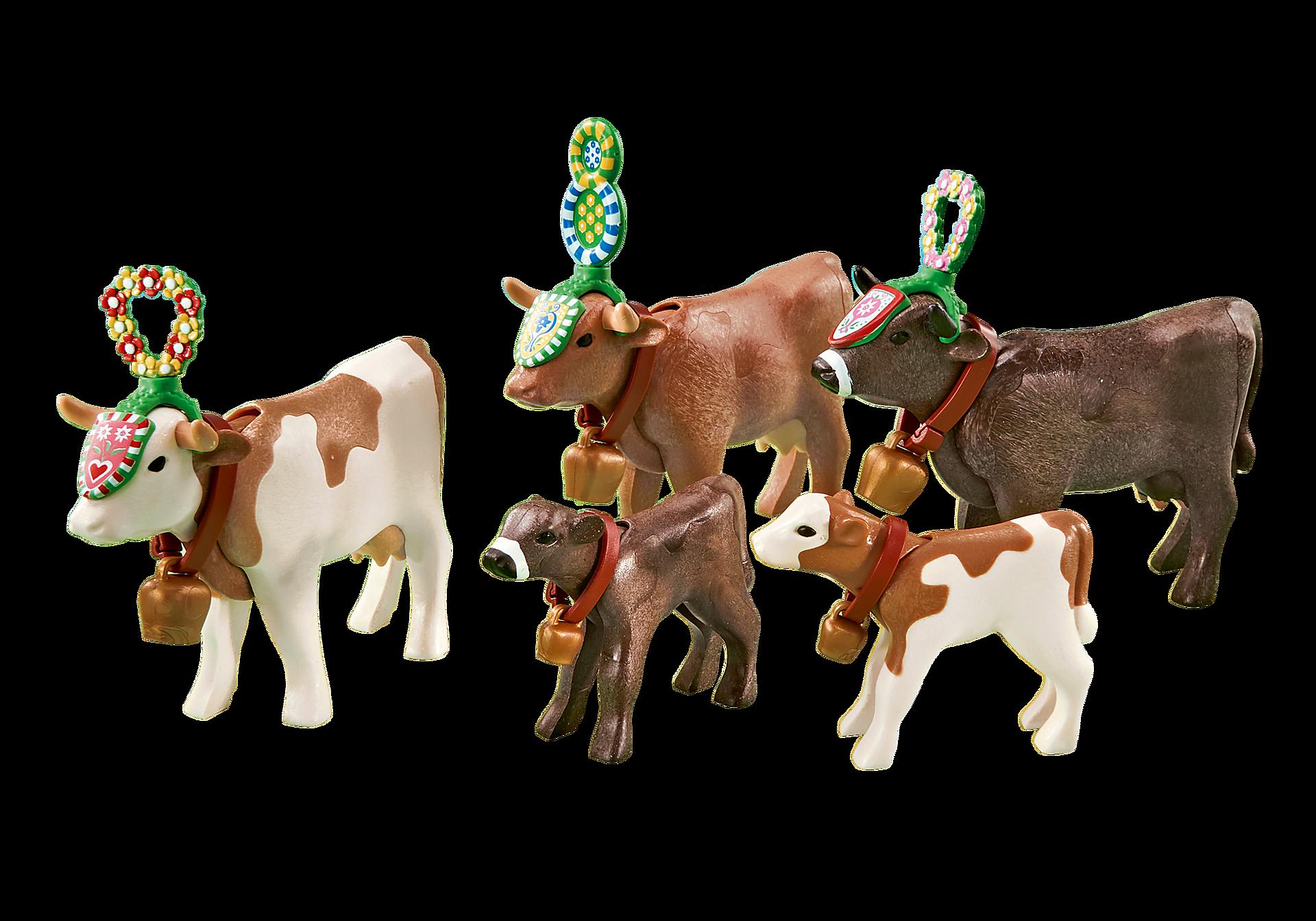 6535 Traditioneel versierde koeien  zoom image1