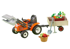 Playmobil Compact Front Loader With Trailer 6537