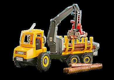 6538 Όχημα μεταφοράς ξυλείας