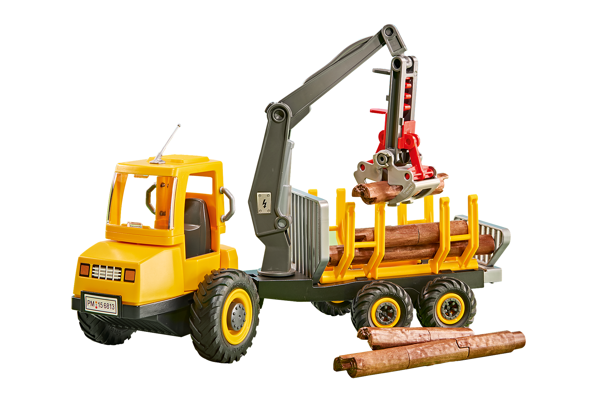 6538 Timber Truck with Crane zoom image1