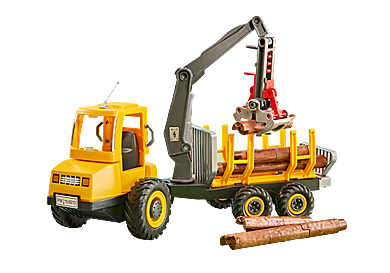 6538_product_detail/Timber Truck with Crane