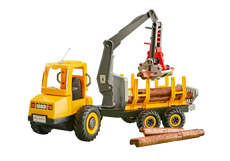 Playmobil Timber Truck With Crane 6538