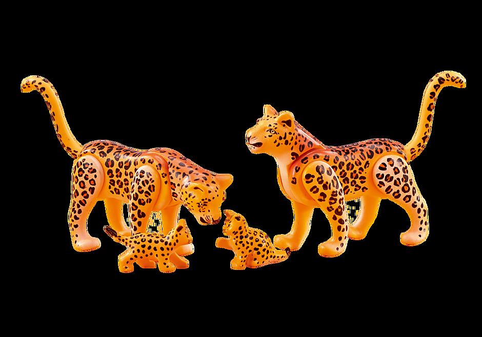 6539 Famille de léopards detail image 1