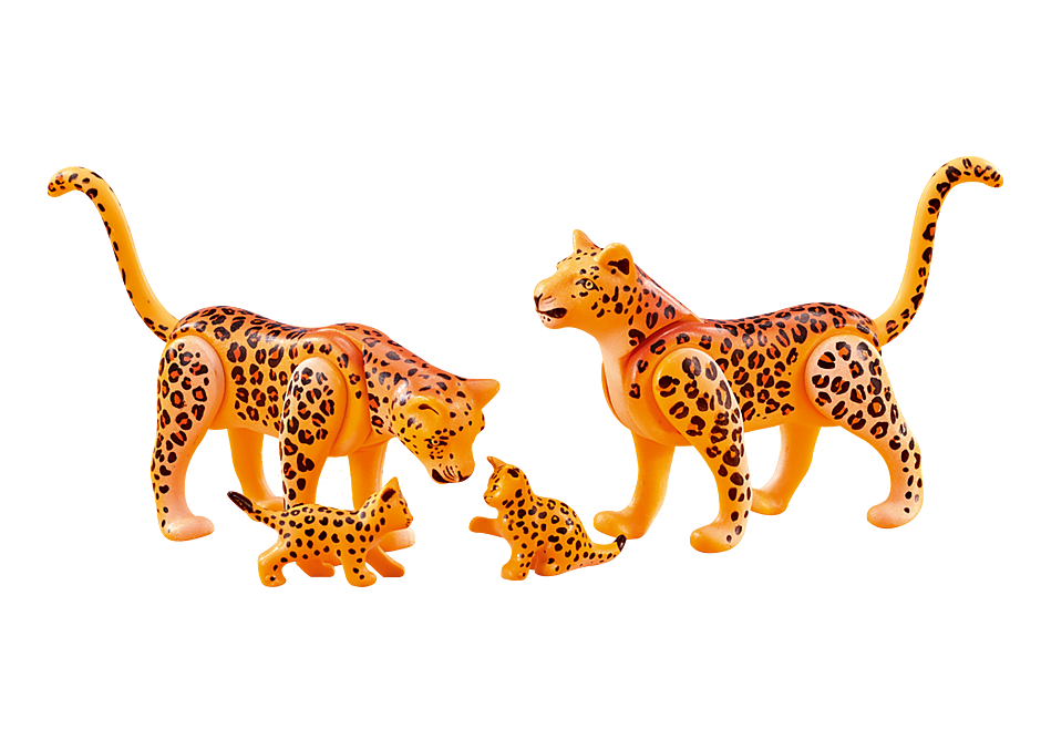 6539 Leopardenfamilie detail image 1