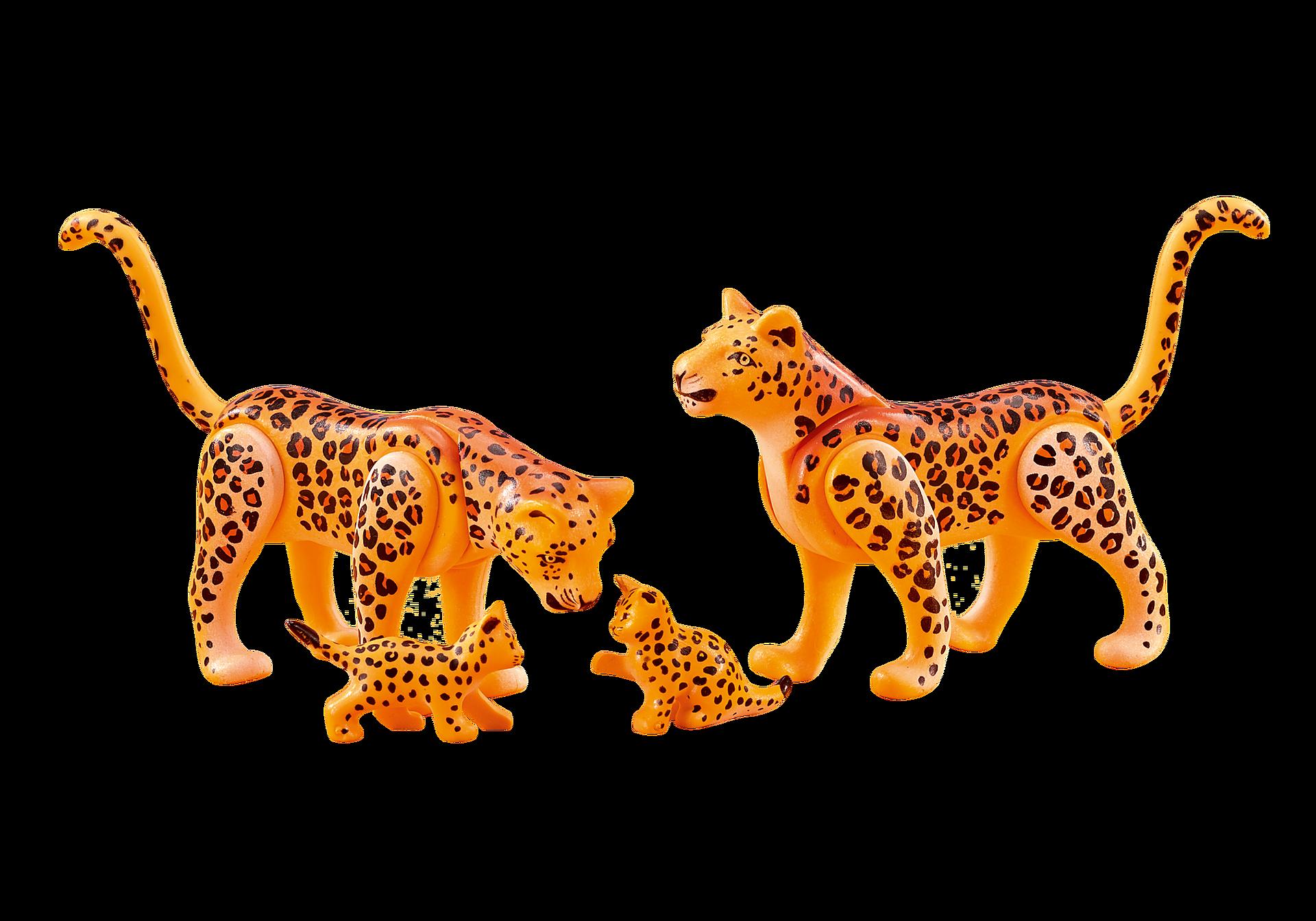 6539 Leopardfamilie zoom image1