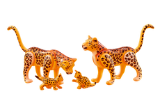Playmobil Leopard Family 6539