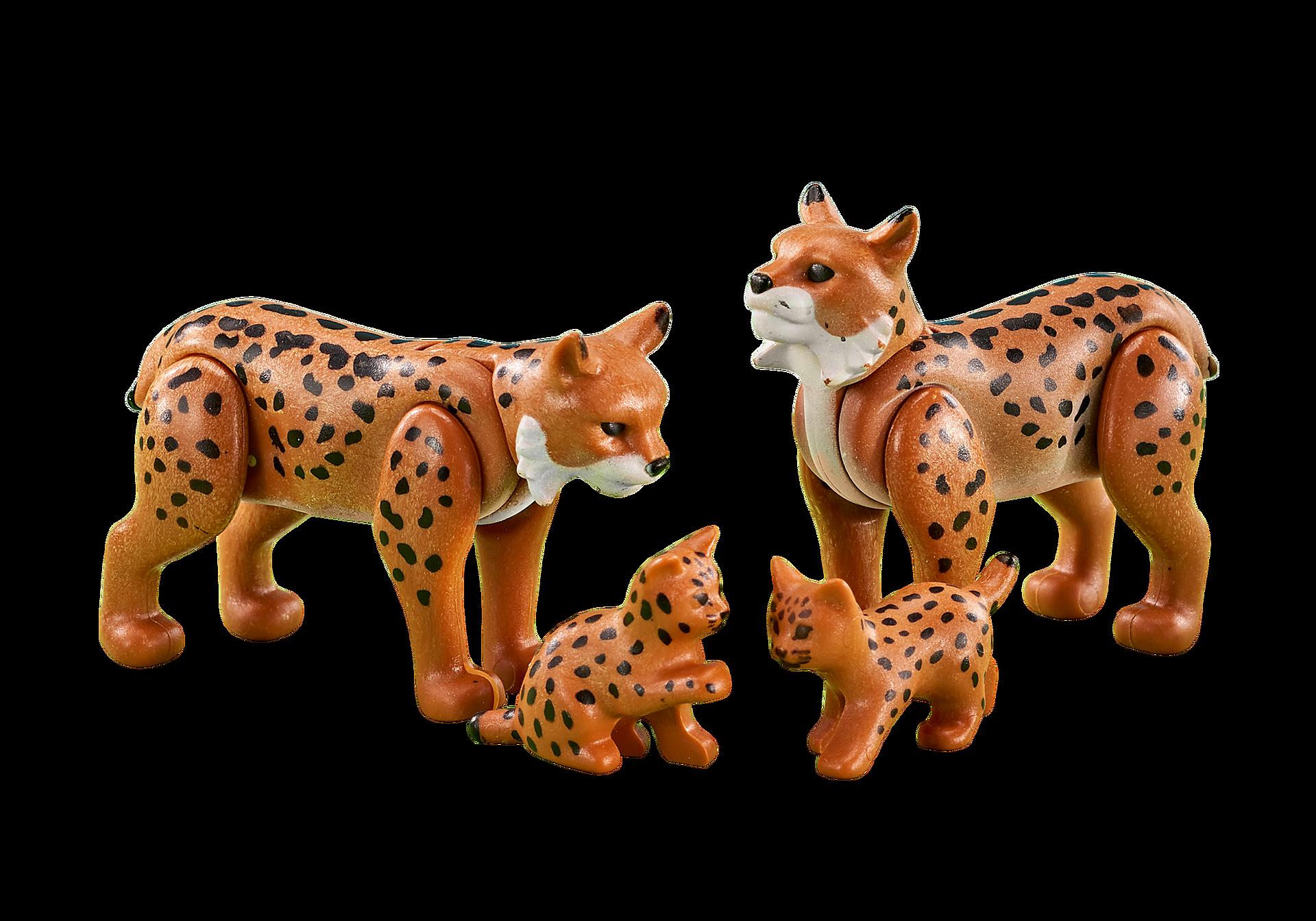 6540 Famille de lynx zoom image1