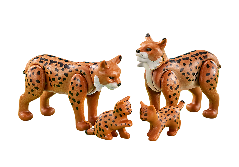 6540 Famille de lynx detail image 1