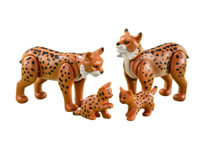 Playmobil Lynx Family 6540