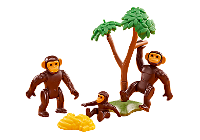 6542_product_detail/Chimpanzee Family