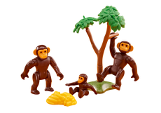 Playmobil Chimpanzee Family 6542