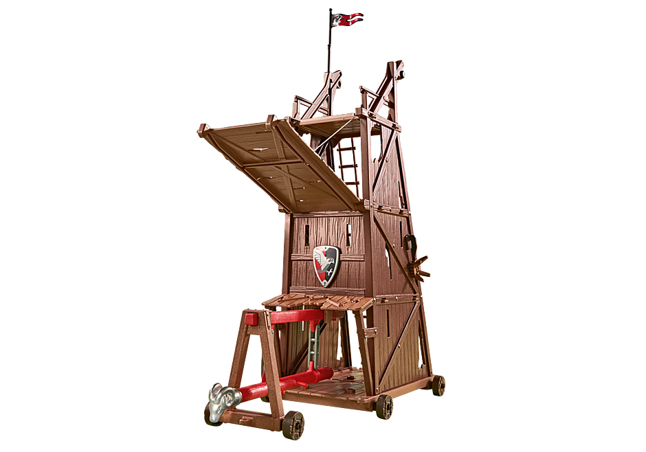 6547 Battle Tower with Battering Ram detail image 1
