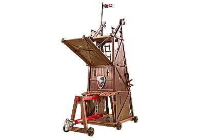 6547 Battle Tower with Battering Ram