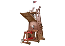 Playmobil Battle Tower With Battering Ram 6547