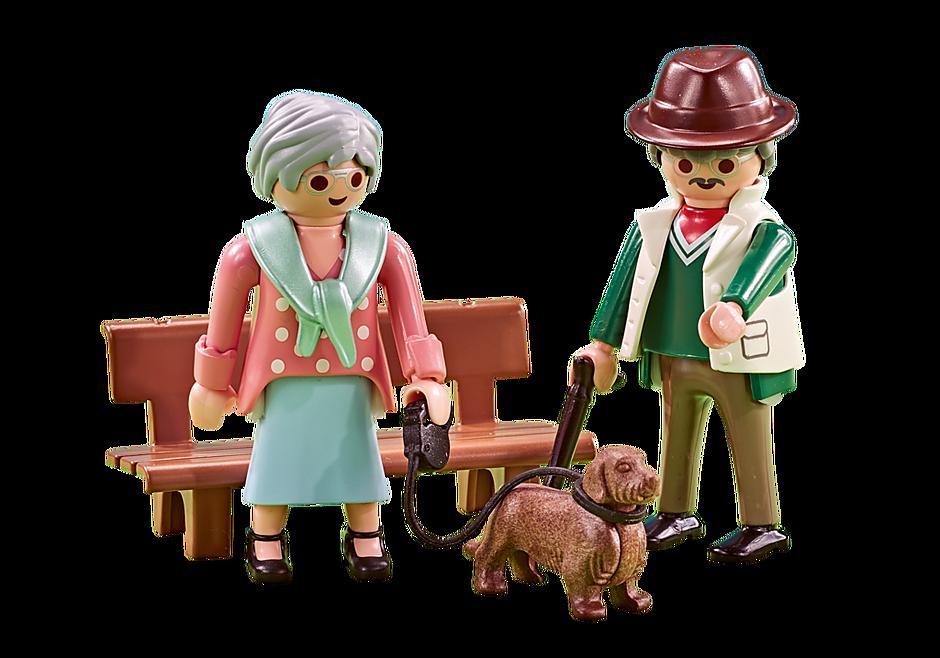6549 Couple de grands-parents detail image 1
