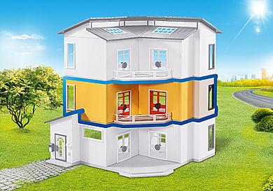 6554 Etage supplémentaire pour Maison moderne