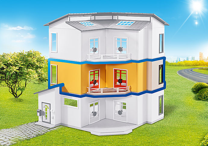 6554 Floor Extension for the Modern House (9266)