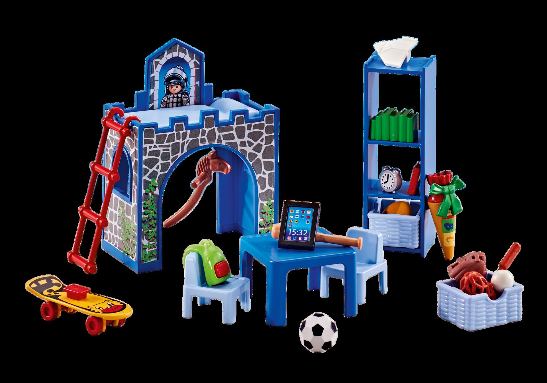 Am nagement pour chambre d 39 enfant 6556 playmobil france for Playmobil chambre enfant