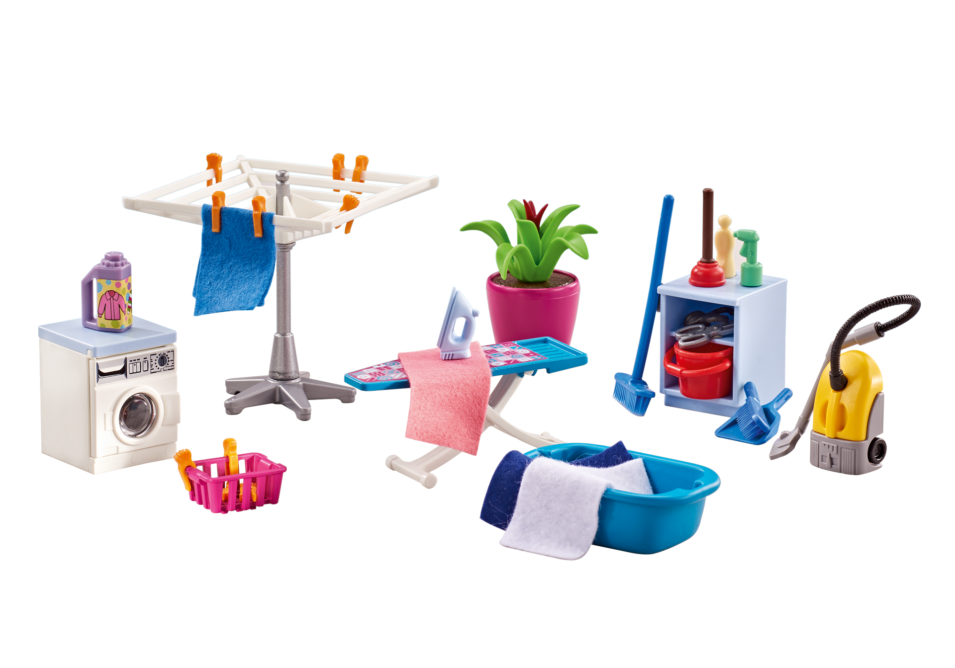Laundry Room - 6557 - PLAYMOBIL® USA