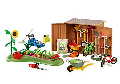 6558_product_detail/Tool Shed with Garden