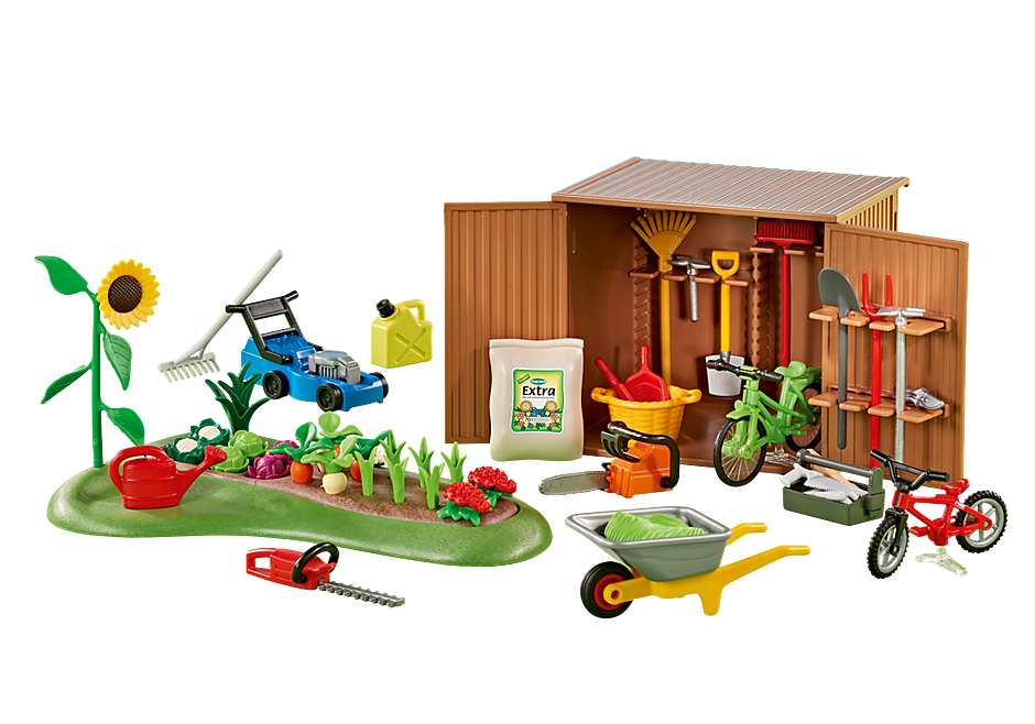 6558 Tool Shed with Garden detail image 1