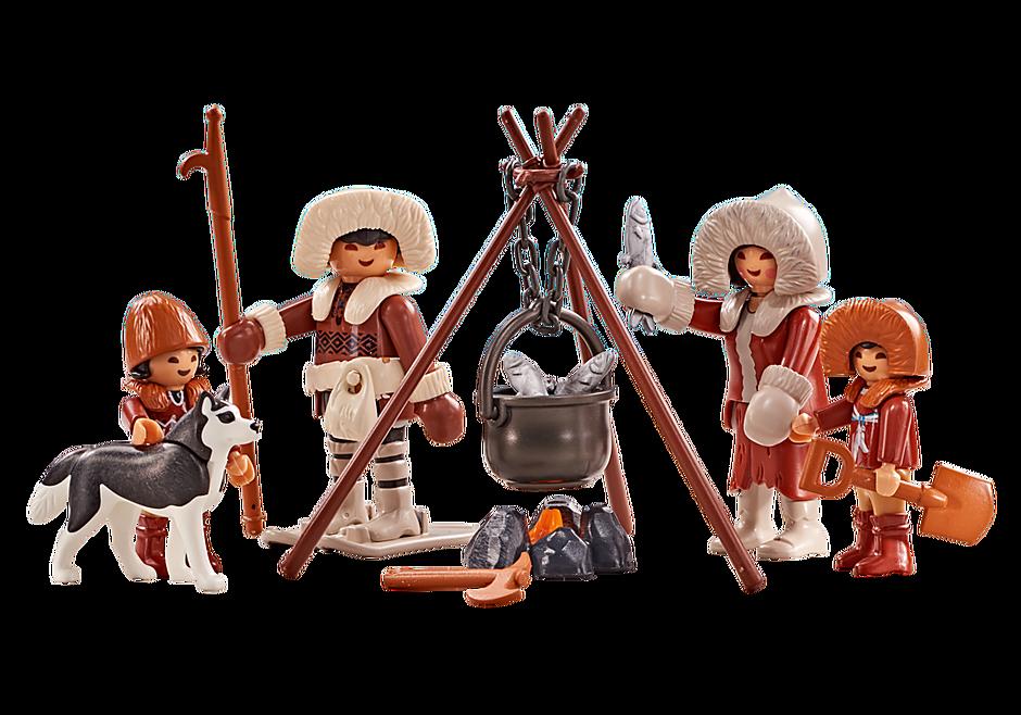 6559 Familie Eskimo's  detail image 1
