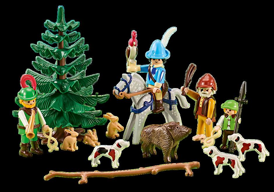 6564 Forestiers médiévaux  detail image 1