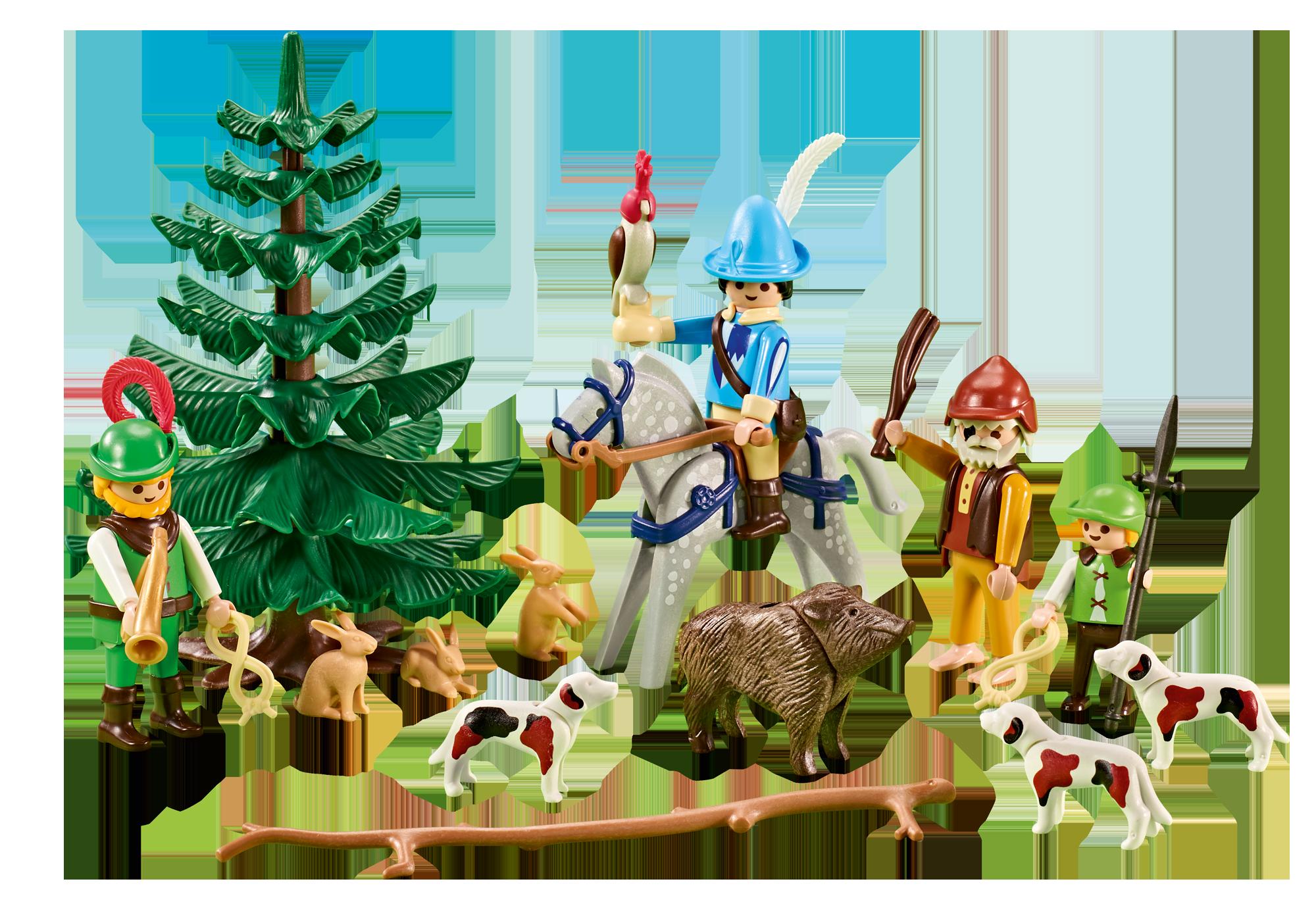 http://media.playmobil.com/i/playmobil/6564_product_detail/Forestiers médiévaux