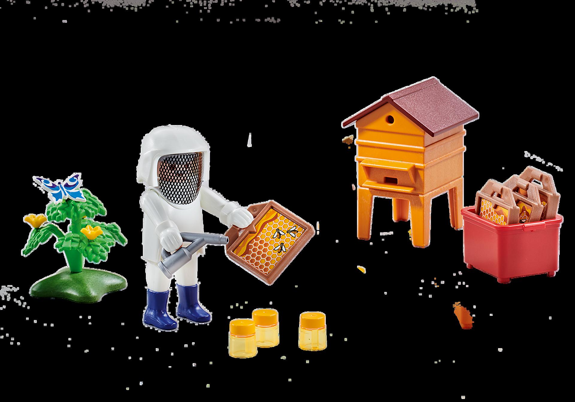 6573 Beekeeper with Hive zoom image1