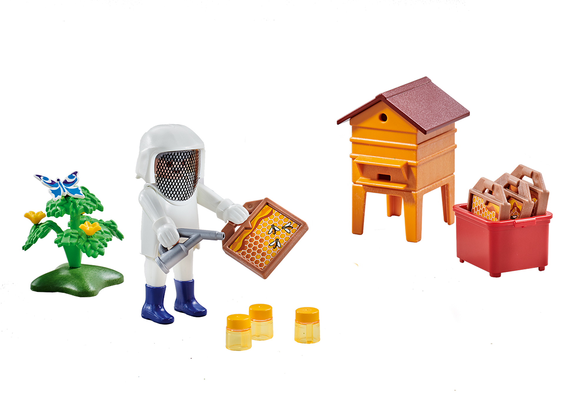 6573 Beekeeper with Hive zoom image1