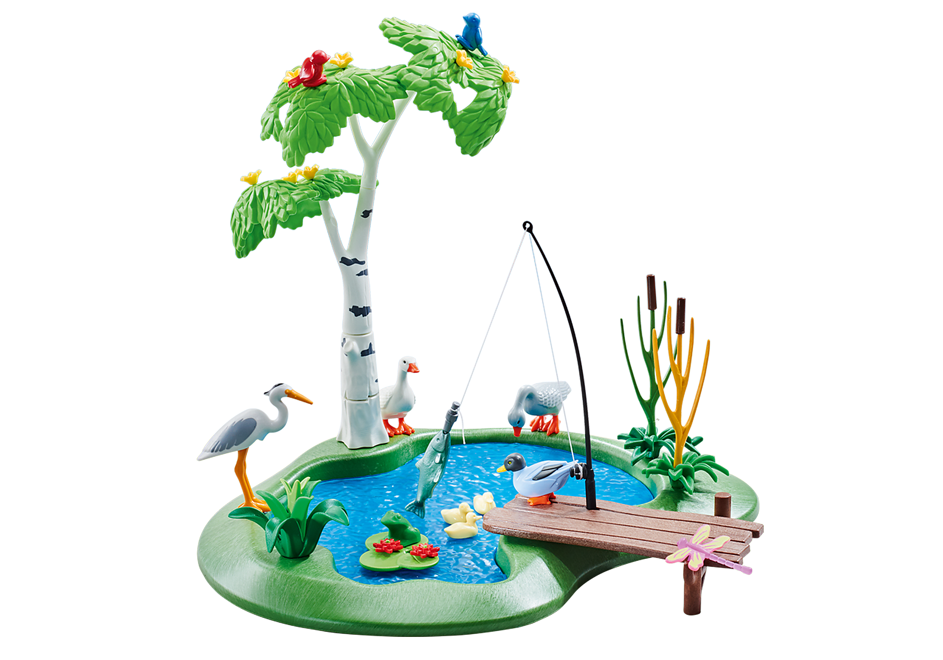 http://media.playmobil.com/i/playmobil/6574_product_detail/Λιμνούλα για ψάρεμα