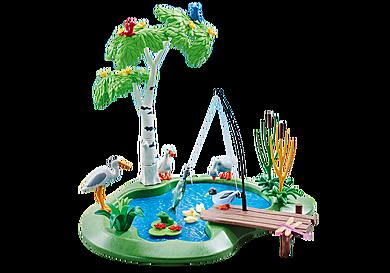 6574 Lago para pesca