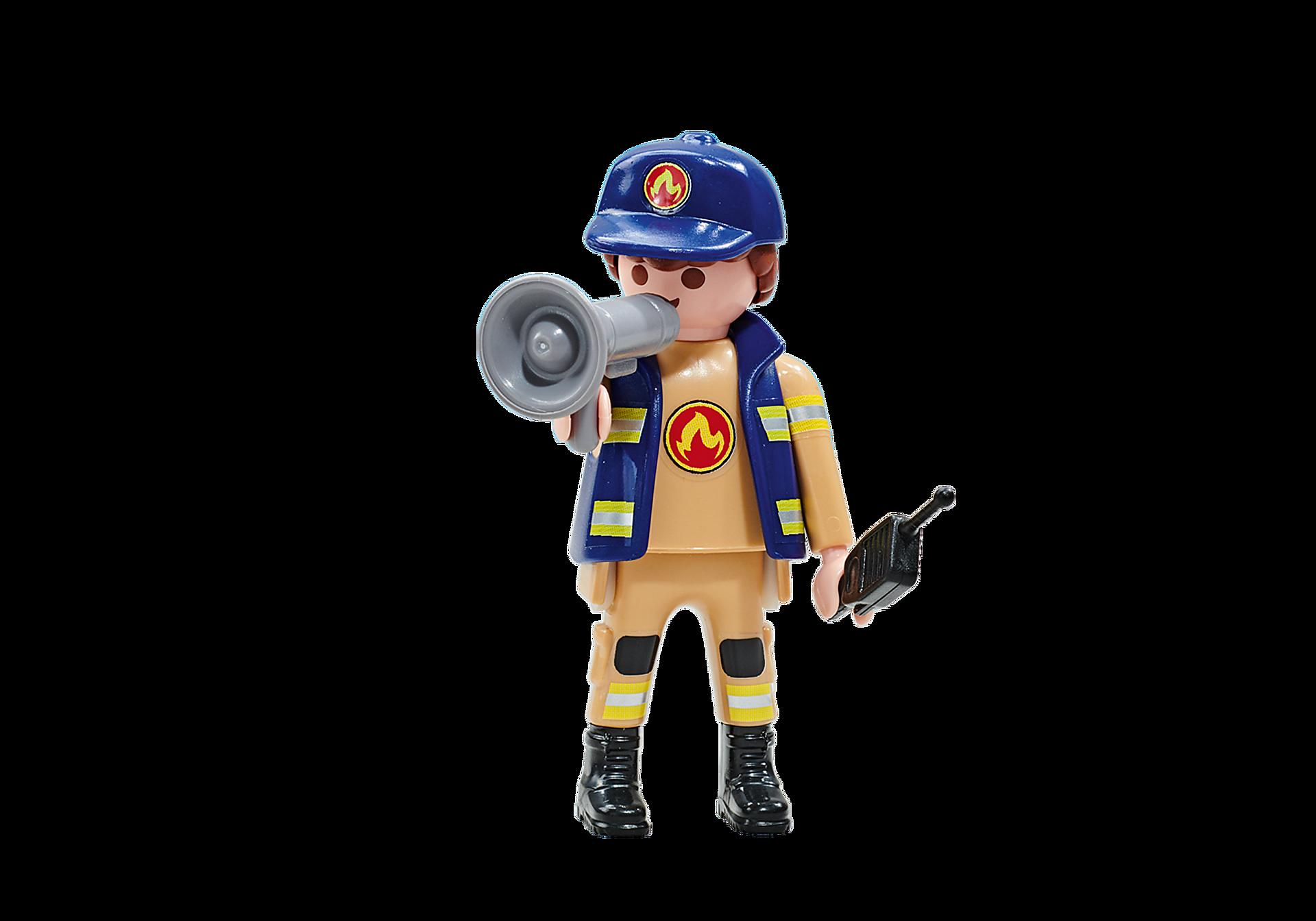6583 Capitano dei Pompieri della squadra rossa zoom image1
