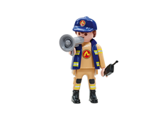 Playmobil Fire Brigade A Captain 6583