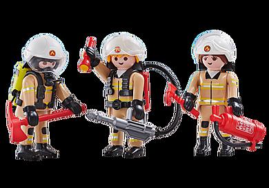 6584 3 brandweerlieden ploeg A