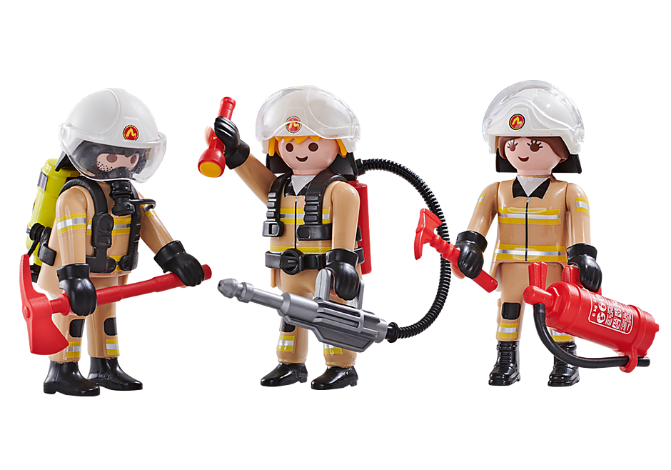 6584 3 pompiers Equipe A  detail image 1