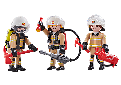 6584 3 pompiers Equipe A