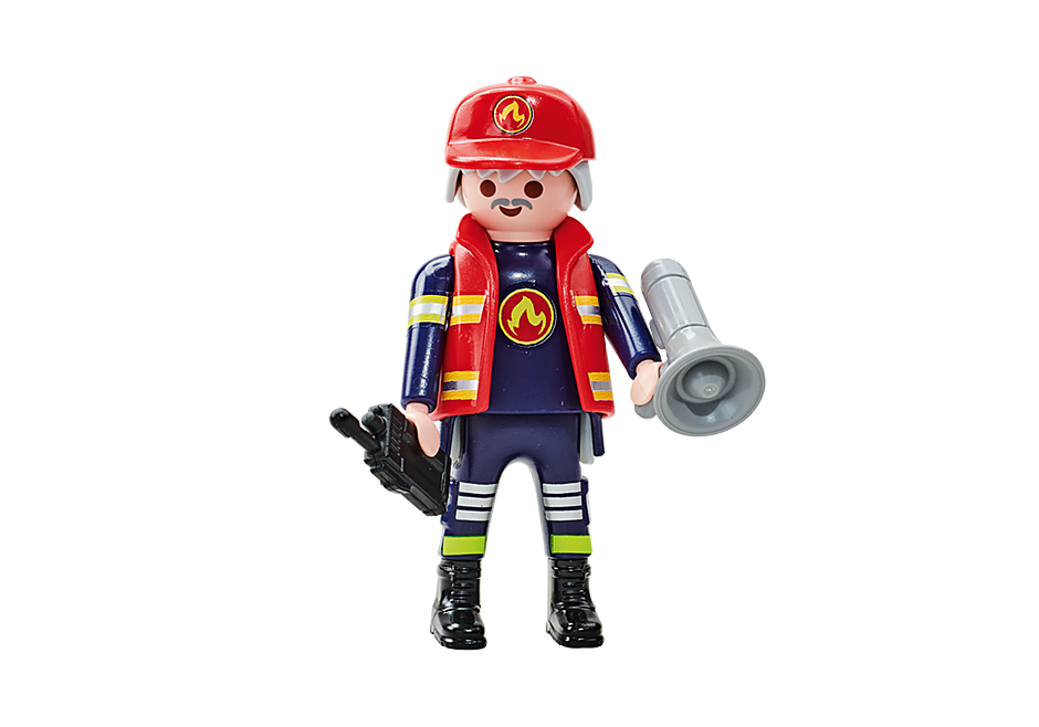 6585 Capitano dei Pompieri della squadra blu detail image 1