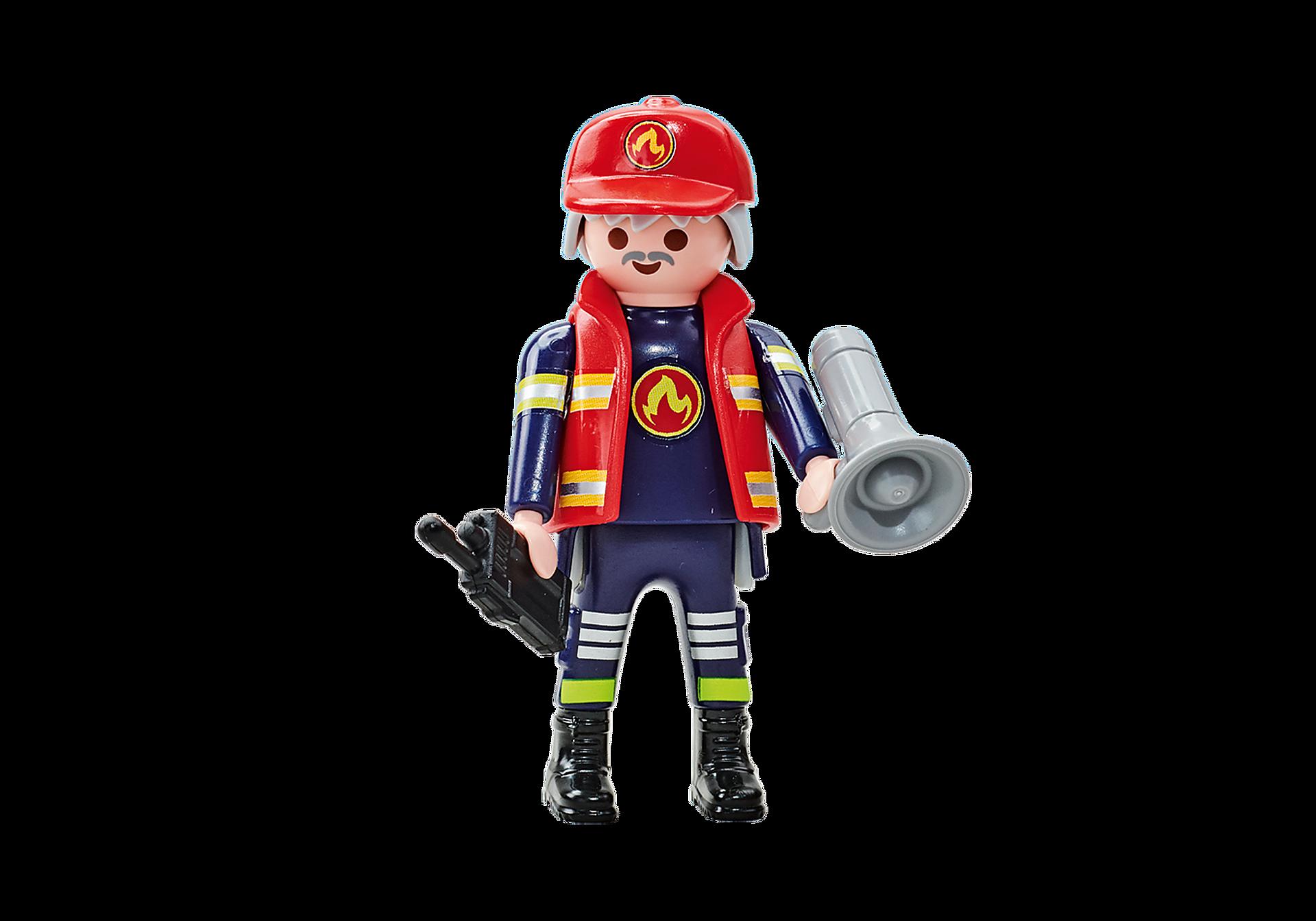6585 Capitano dei Pompieri della squadra blu zoom image1