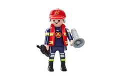 Playmobil Fire Brigade B Captain 6585