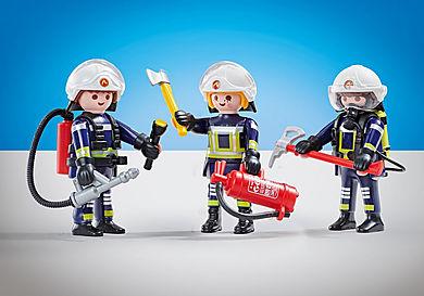 6586 3 brandweerlieden ploeg B