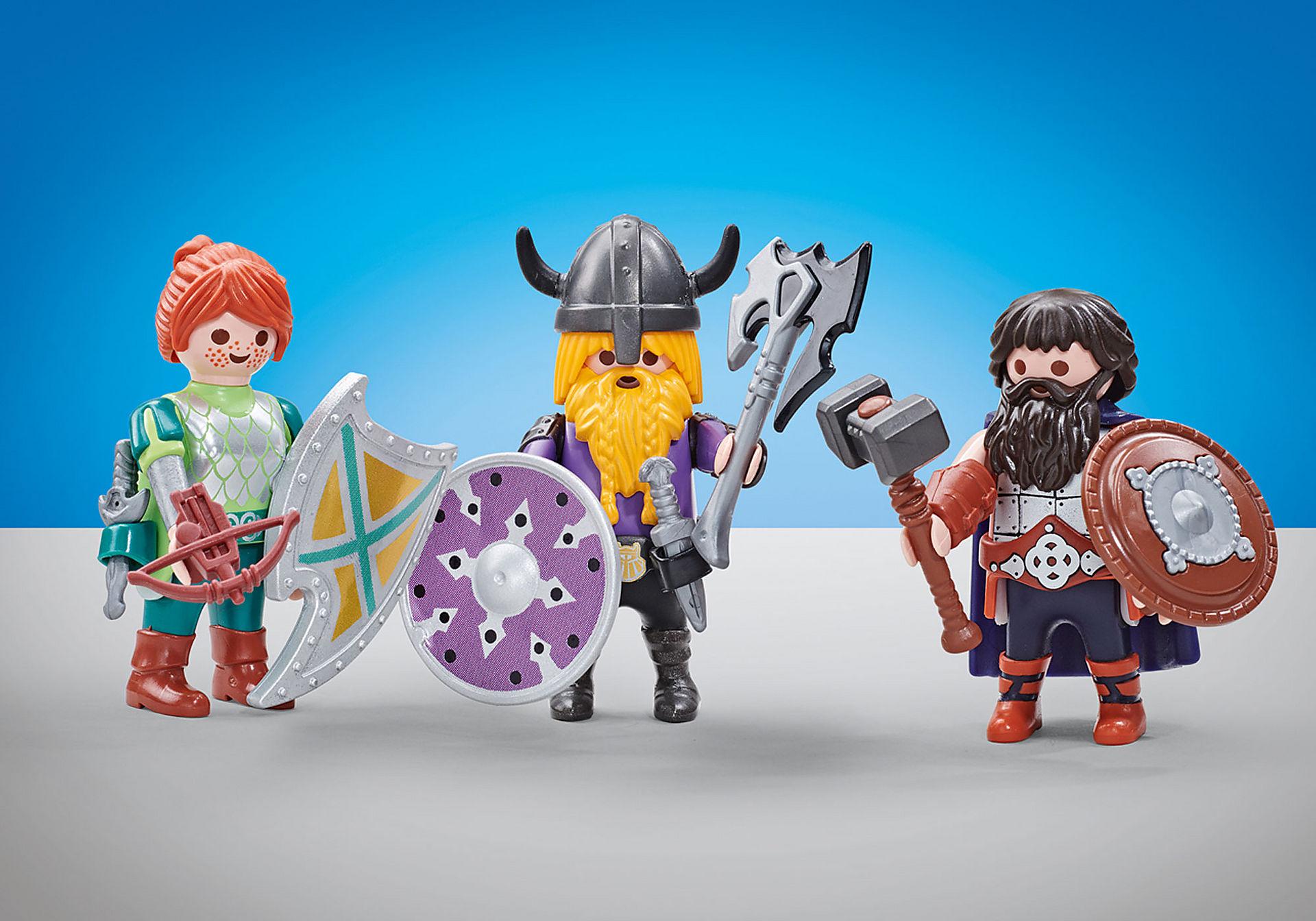 6588 Three Dwarf Fighters zoom image1