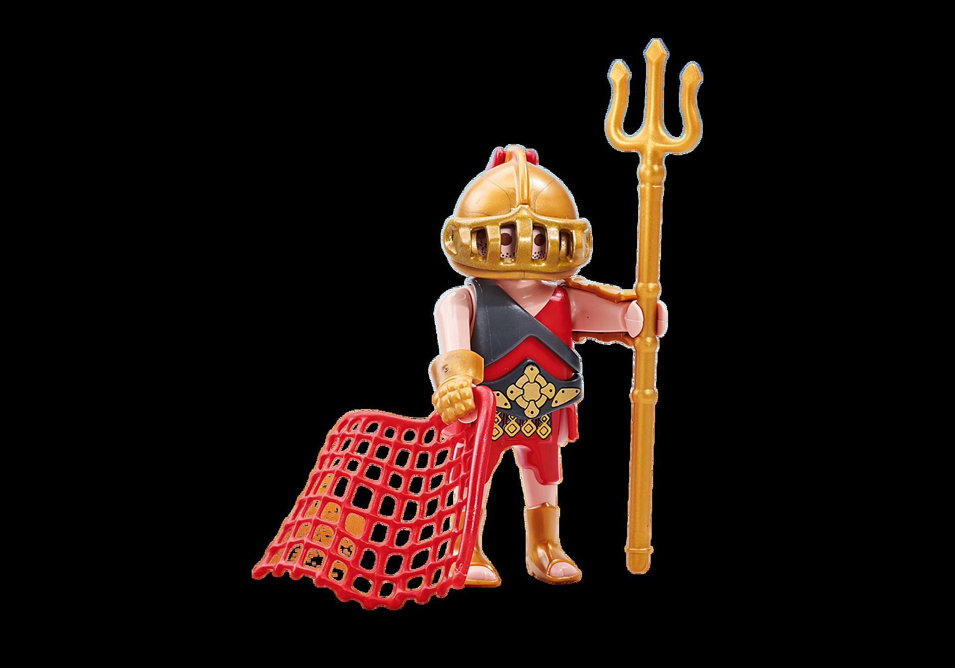 6589 Gladiatore con rete e tridente zoom image1