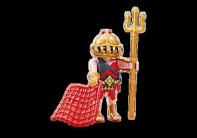 6589 Gladiatore con rete e tridente