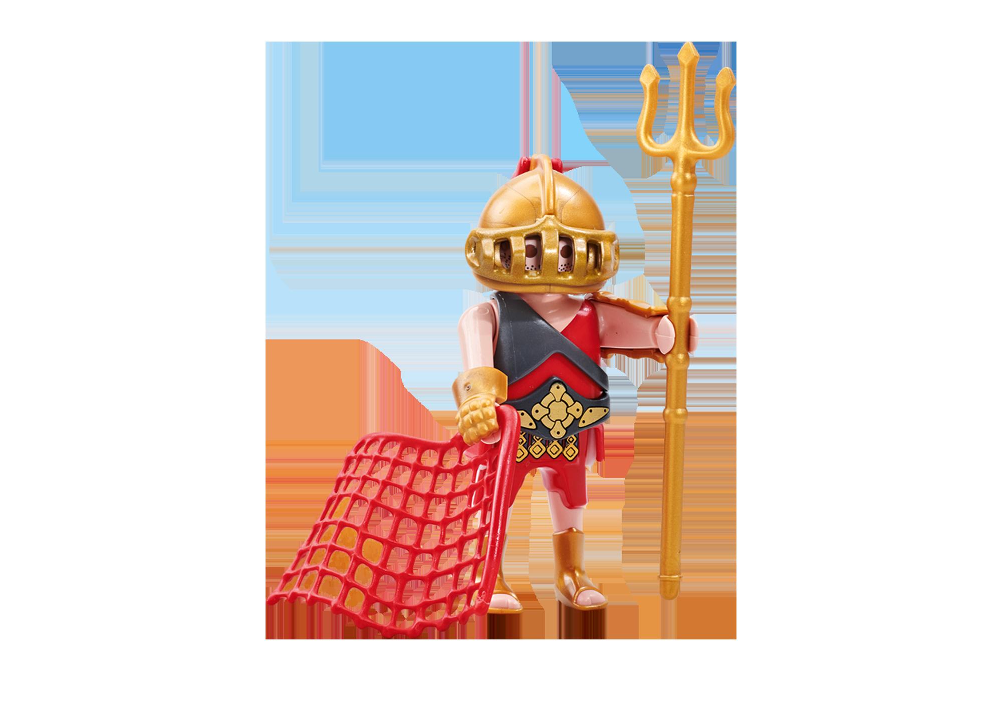 6589_product_detail/Gladiatore con rete e tridente