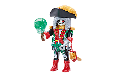 6591 Ghost Pirate Captain