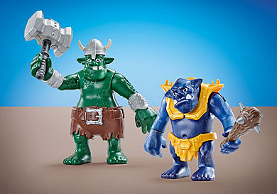 6593 2 trolls géants